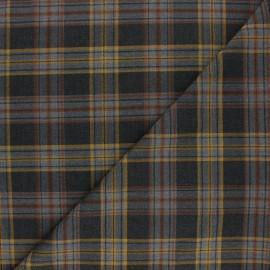 Tissu polyviscose élasthanne Kensington - jaune x 10cm