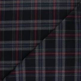 Polyviscose elastane fabric - black Waterloo x 10cm
