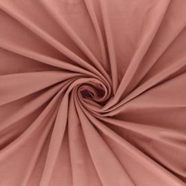 Tissu jersey Bambou Oeko-tex® - vieux rose x 10cm