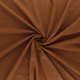 Oeko-tex® jersey Bamboo fabric - caramel x 10cm