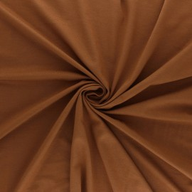 Tissu jersey Bambou Oeko-tex® - caramel x 10cm