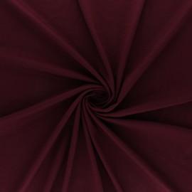 Oeko-tex® jersey Bamboo fabric - burgundy x 10cm