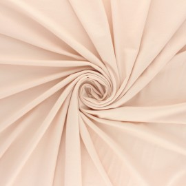 Jersey Bamboo fabric - nude pink x 10cm