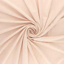 Tissu jersey Bambou - nude x 10cm