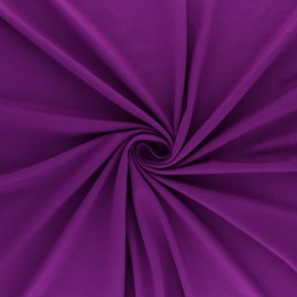 Jersey Bamboo fabric - purple x 10cm