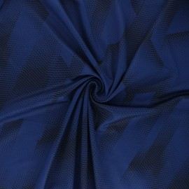 Sport Mesh fabric - ink blue Athletic x 10cm
