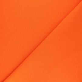 Tissu Coton uni Nuance - clémentine x 10cm