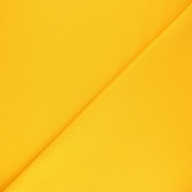 Plain cotton fabric - mimosa yellow Nuance x 10cm