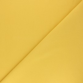 Plain cotton fabric - straw yellow Nuance x 10cm