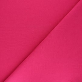 Plain cotton fabric - fuchsia pink Nuance x 10cm