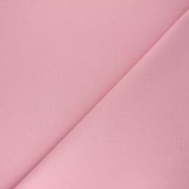 Plain cotton fabric - pink Nuance x 10cm