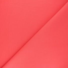 Tissu Coton uni Nuance - capucine x 10cm