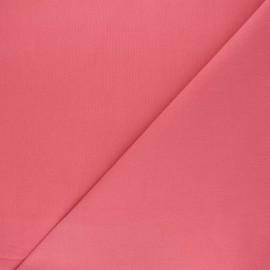 Tissu Coton uni Nuance - pêche de vigne x 10cm