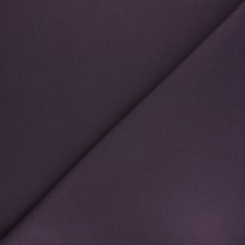 Plain cotton fabric - dark purple Nuance x 10cm