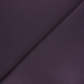 Tissu Coton uni Nuance - violet foncé x 10cm