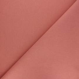 Plain cotton fabric - soft pink Nuance x 10cm
