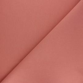 Tissu Coton uni Nuance - rose thé x 10cm