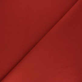 Tissu Coton uni Nuance - terracotta x 10cm