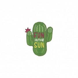 Iron-on patch Été ensoleillé - Cactus