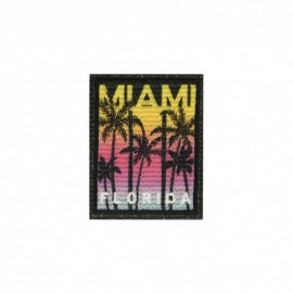 Iron-on patch US vibe - Miami