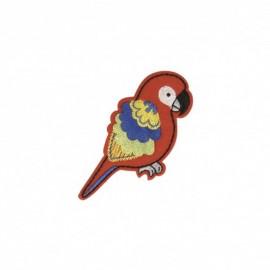 Thermocollant Animaux feutrine - Perroquet