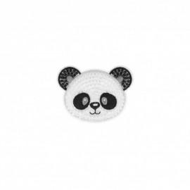 Thermocollant perle Panda - blanc