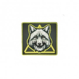 Iron-on patch Neon animals - Renard