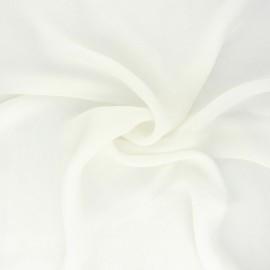 Silk Muslin Fabric - off-white x 50cm