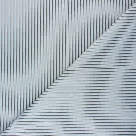 Tissu coton cretonne Gildwin - gris x 10cm