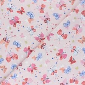 Cotton Dashwood fabric - pink Celeste x 10cm