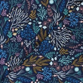 Tissu coton Dashwood Into the Blue - Deep Sea x 10cm