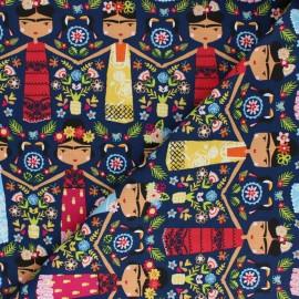 Cotton Dashwood fabric - Frida Kahlo Fiesta x 10cm
