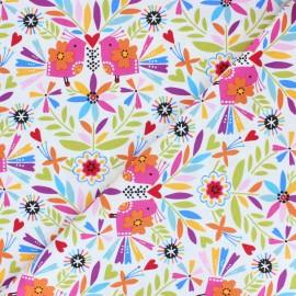 Cotton Dashwood fabric - Color Pop Fiesta x 10cm