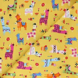 Tissu coton Dashwood Fiesta - Lama x 10cm