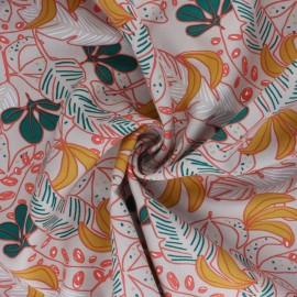 Tissu viscose Guzalor - beige x 10cm