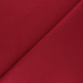 Plain cotton fabric - burgundy Nuance x 10cm