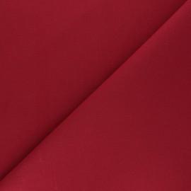 Tissu Coton uni Nuance - bordeaux x 10cm