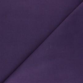 Plain cotton fabric - purple Nuance x 10cm