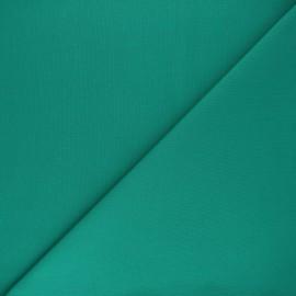 Tissu Coton uni Nuance - vert émeraude x 10cm