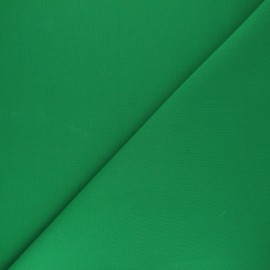 Plain cotton fabric - meadow green Nuance x 10cm