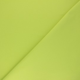 Plain cotton fabric - lime green Nuance x 10cm