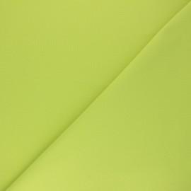 Tissu Coton uni Nuance - vert anis x 10cm