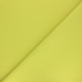 Tissu Coton uni Nuance - vert pomme x 10cm