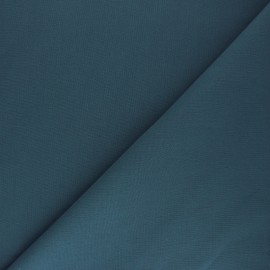 Plain cotton fabric - steel blue Nuance x 10cm