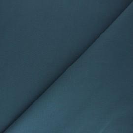 Tissu Coton uni Nuance - bleu acier x 10cm