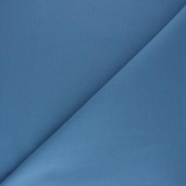 Tissu Coton uni Nuance - bleu houle x 10cm
