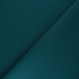 Tissu Coton uni Nuance - vert paon x 10cm