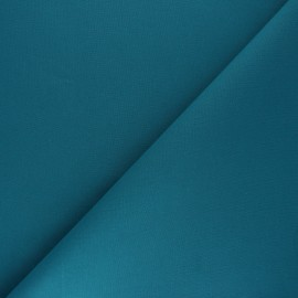 Plain cotton fabric - teal blue Nuance x 10cm