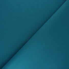 Tissu Coton uni Nuance - bleu canard x 10cm