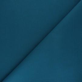 Plain cotton fabric - Caribbean blue Nuance x 10cm